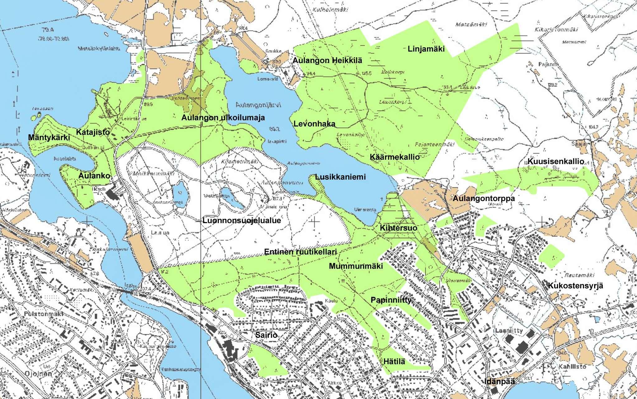 Aulangon Metsaluonnon Hks 2015 2025 Hameenlinna