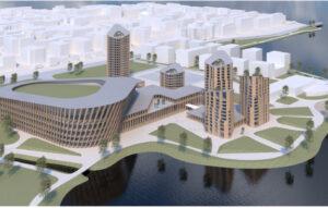 Hämeensaari-hankkeen mallikuva 4
