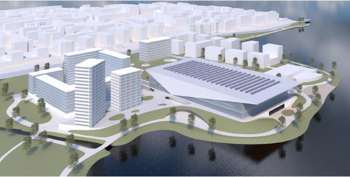 Hämeensaari-hankkeen mallikuva 2