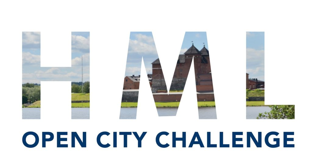 Hämeenlinnan Open City Challenge -haastekampanjan logo