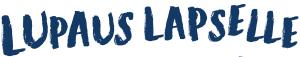 Lupaus lapselle -teksti logona