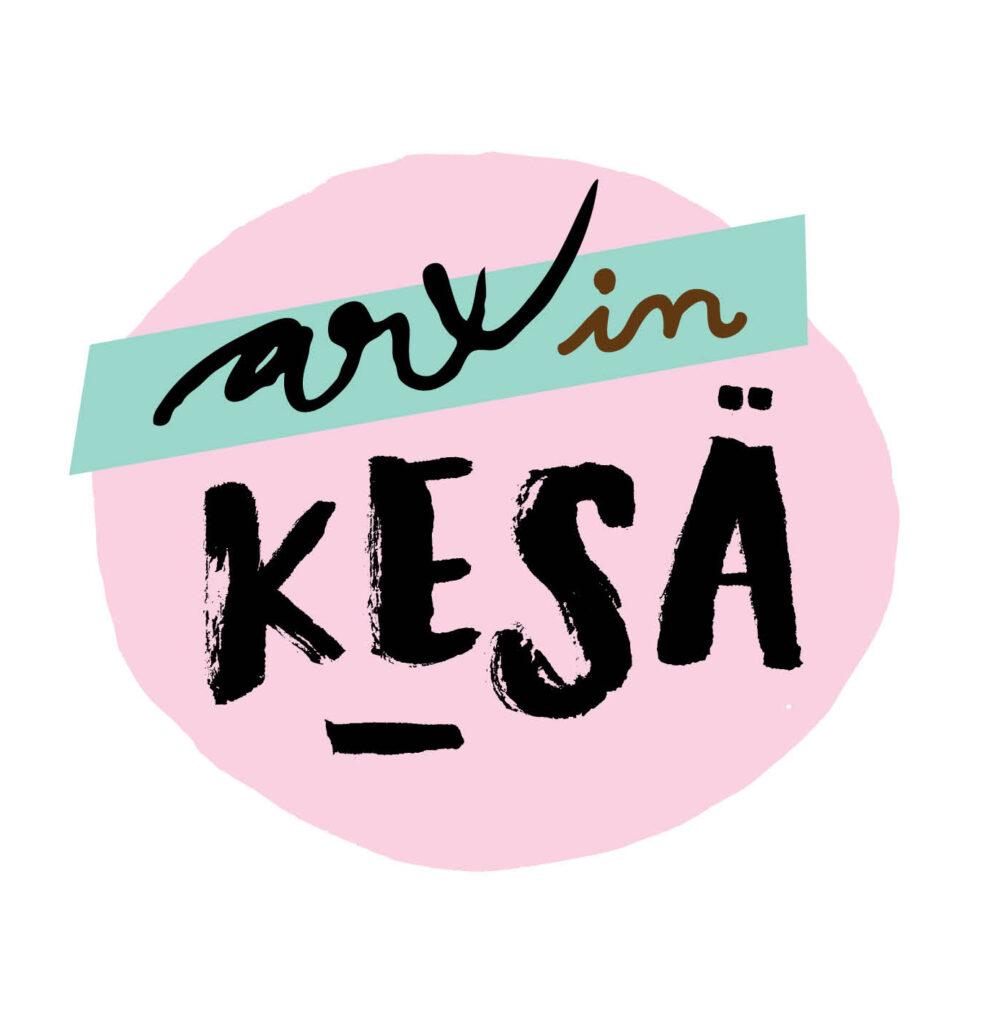 Piirretty Arxin kesä-logo.