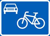 liikennemerkki pyöräkatu