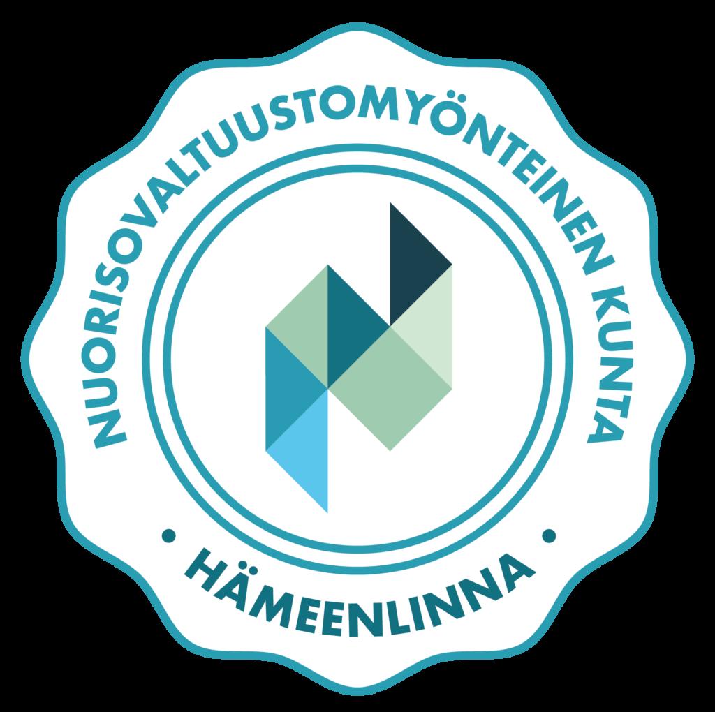 Nuorisovaltuustomyönteinen kunta -logo