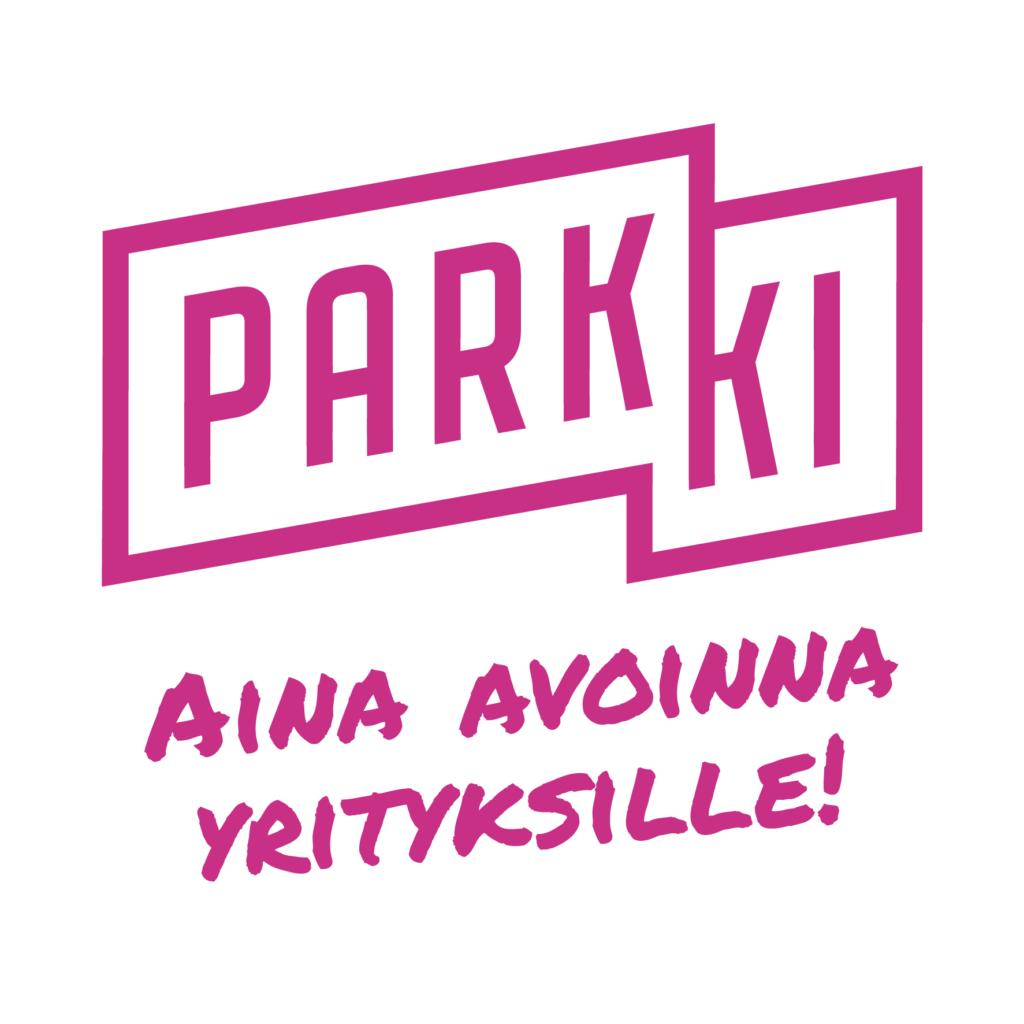 Parkki Business Park on aina avoinna yrityksille -logo